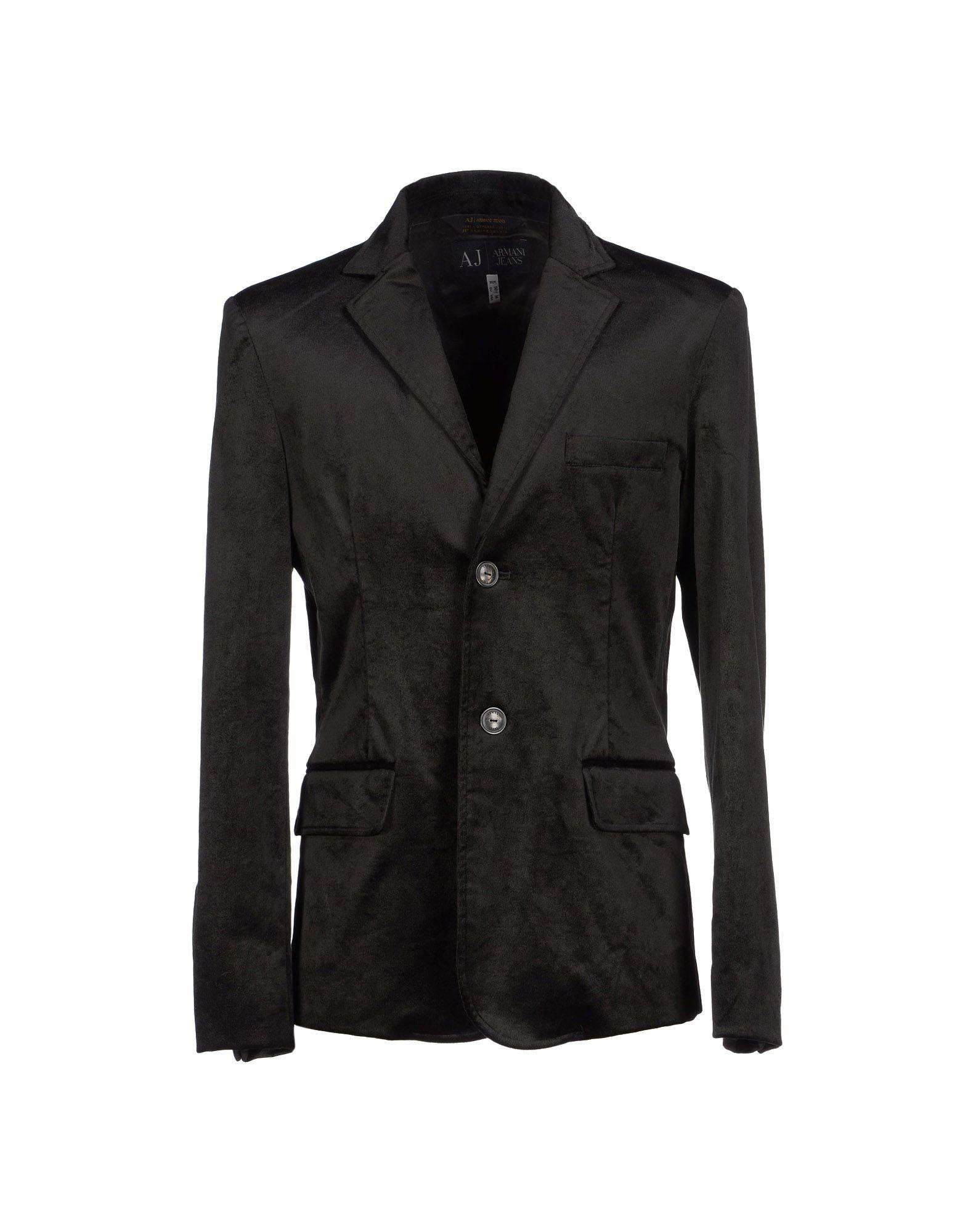 Armani jeans Blazer in Black for Men | Lyst
