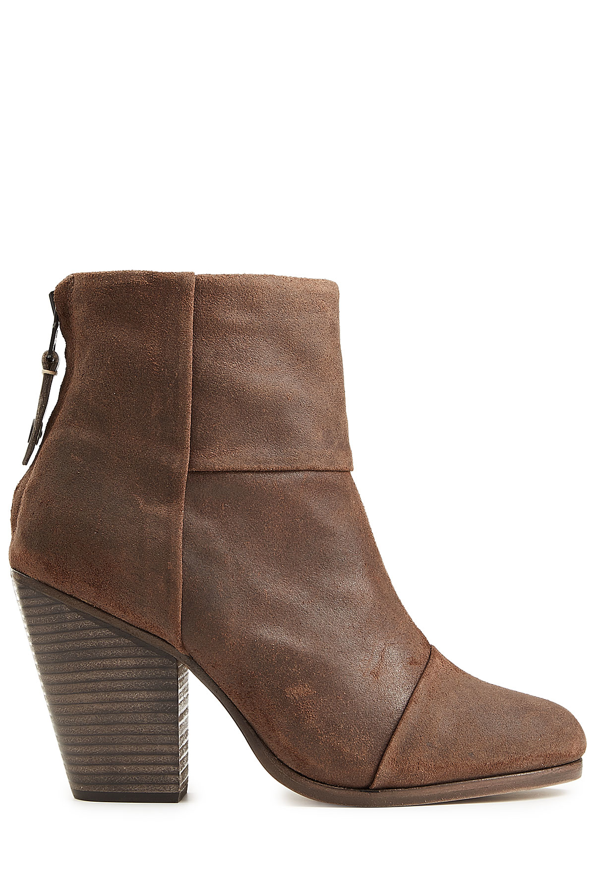 rag bone classic newbury suede ankle boots brown in