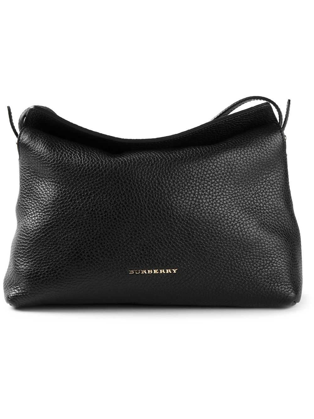 999ae9462864 Lyst - Burberry Grainy Cross Body Bag in Black