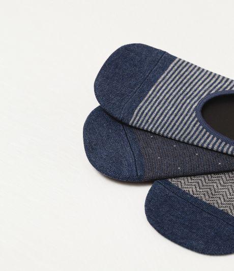 Zara Shoe Liner Socks Shoe Liner Socks In Blue For Men | Lyst
