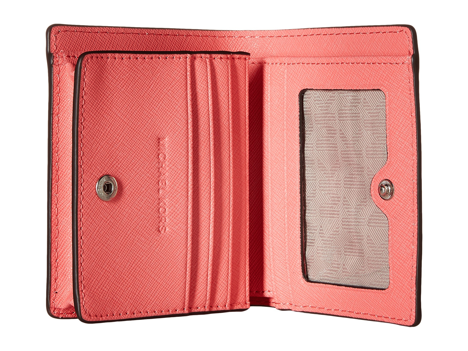 b4be41d19a25 Lyst - MICHAEL Michael Kors Jet Set Travel Flap Card Holder in Pink