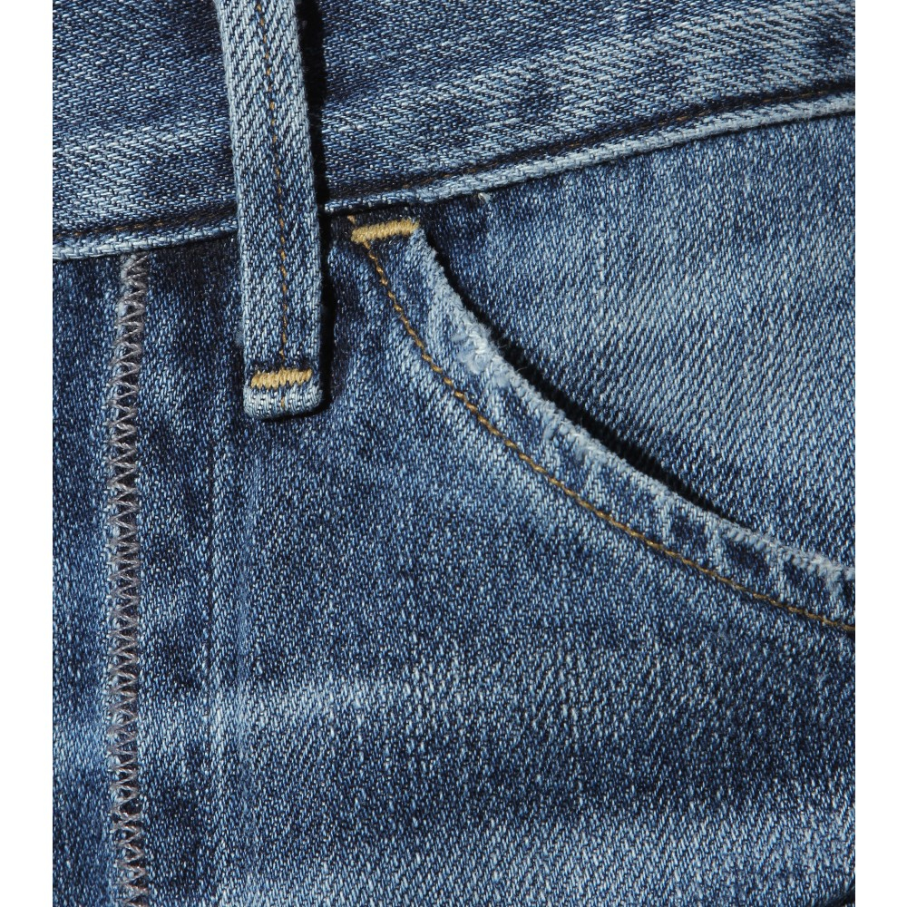 Citizens of Humanity Melanie Wide-leg Jeans in Blue