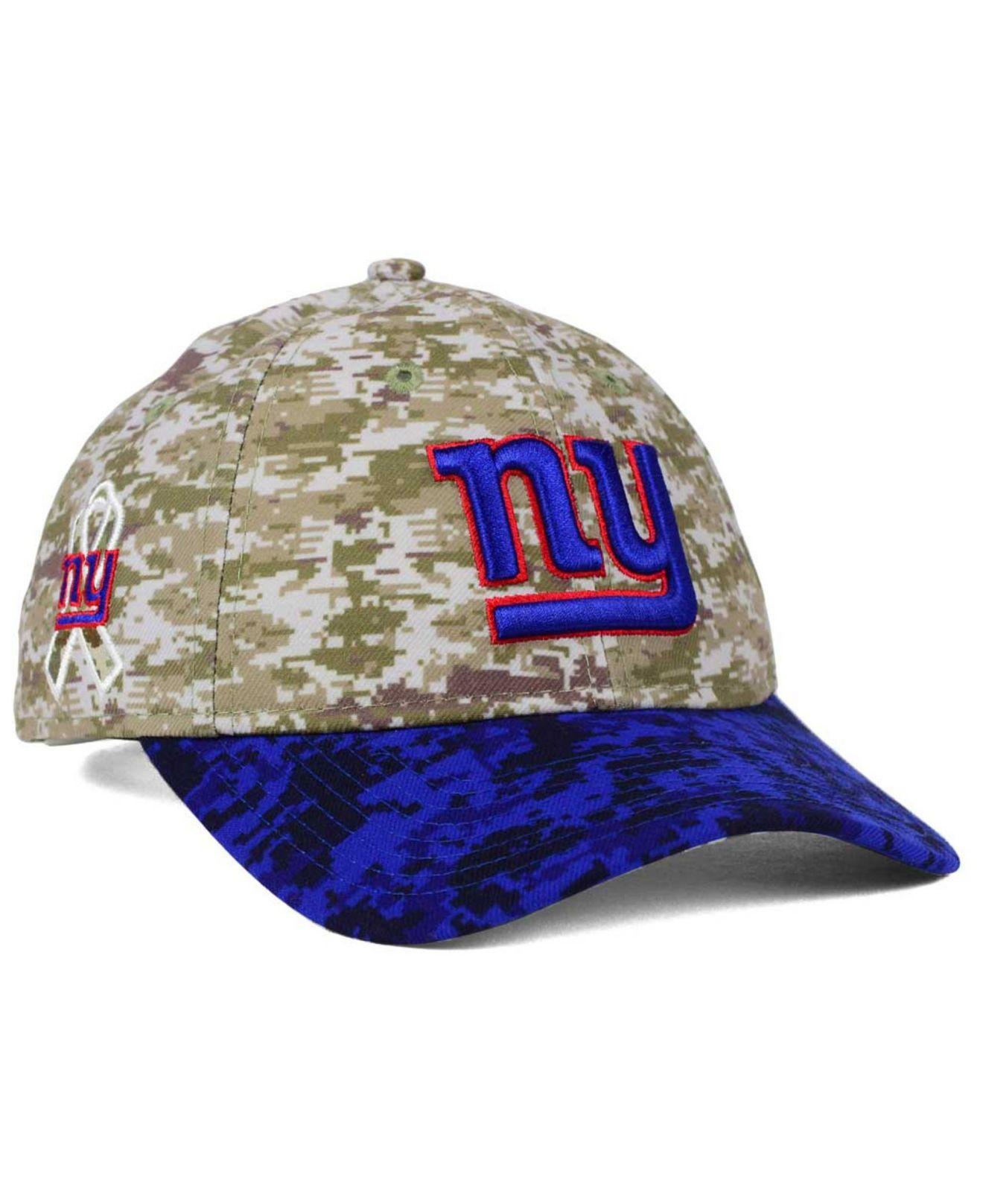 050c754ab2f ... ireland lyst ktz womens new york giants salute to service 9twenty cap  in 76329 30f4f