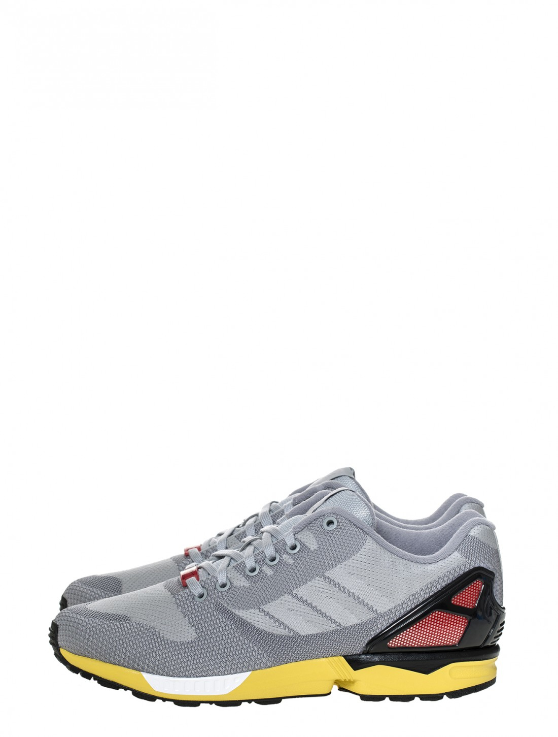 adidas zx flux weave sneaker in gray for men grey lyst. Black Bedroom Furniture Sets. Home Design Ideas