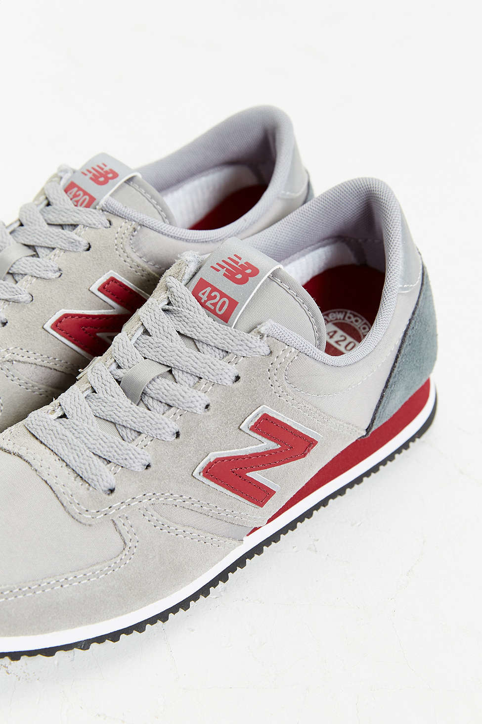 new balance sneakers 420 classics navy