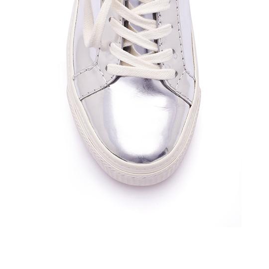 Loeffler Randall Miko Platform Sneaker in Metallic