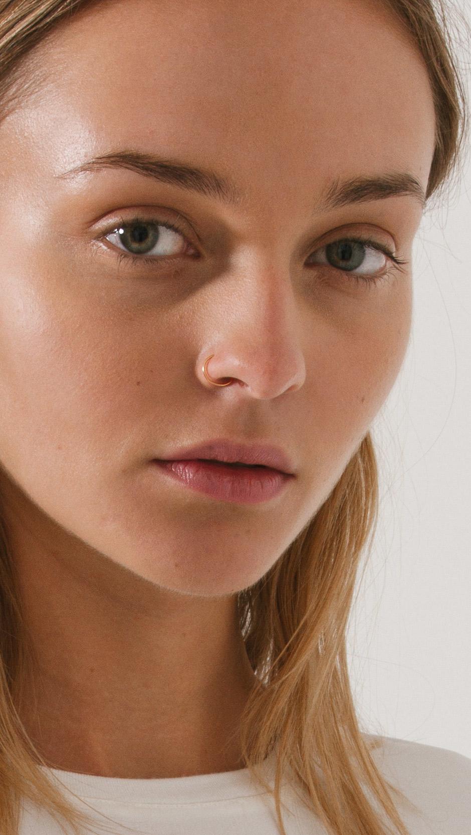 Saskia diez Faux Nose Ring in Metallic - Save 9% | Lyst