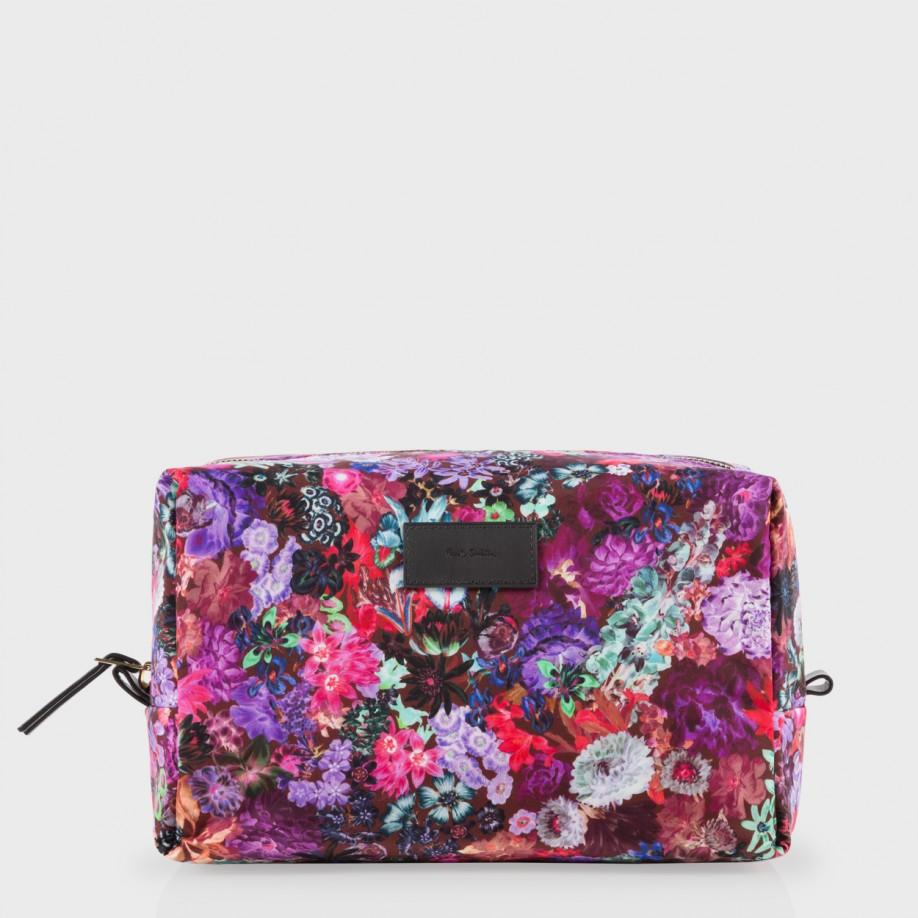 60e2af5cd7b3 Paul Smith Women's Floral Print Wash Bag in Purple - Lyst