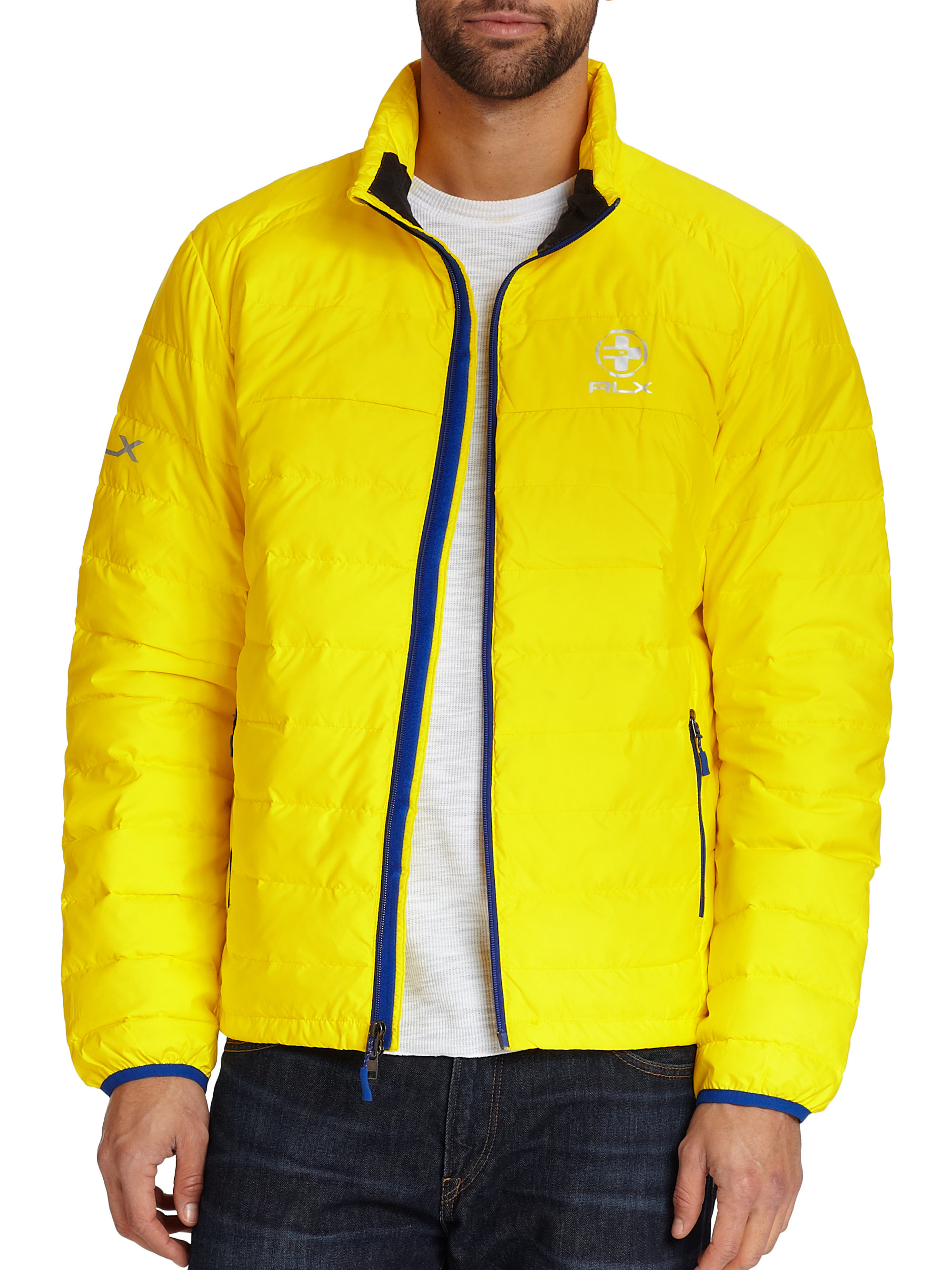 Polo Ralph Lauren Explorer Down Jacket In Yellow For Men