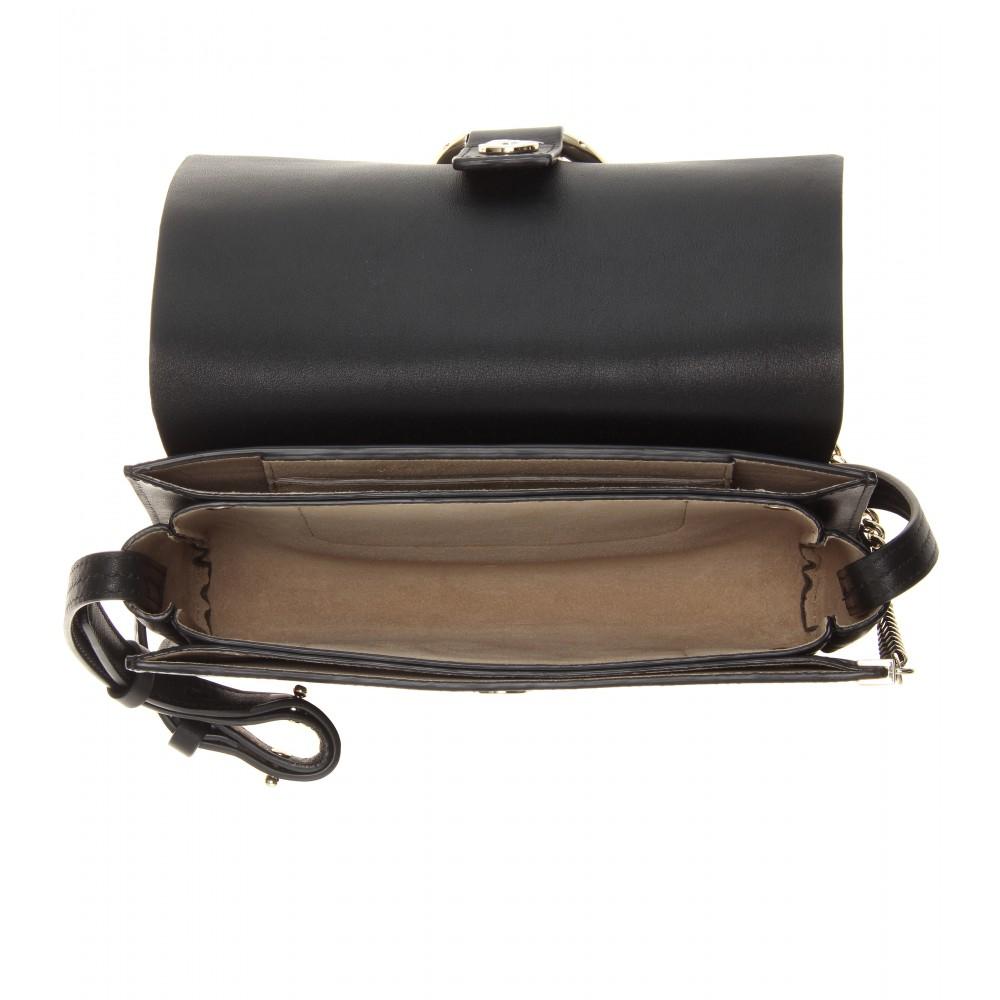 Chloe Faye Small Suede Flap Leather Shoulder Bag Purses Chloe