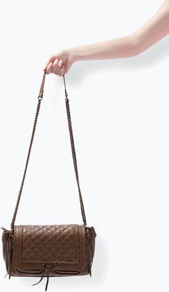 Zara Quilted Shoulder Bag 83