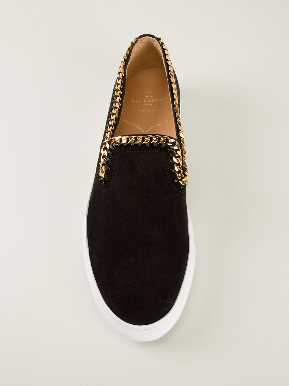 Louis Leeman Slip On Sneakers in Black