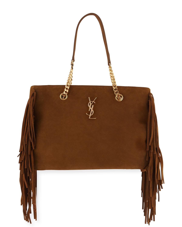 6fbd280b1d7b Saint Laurent Fringe Tote Bag