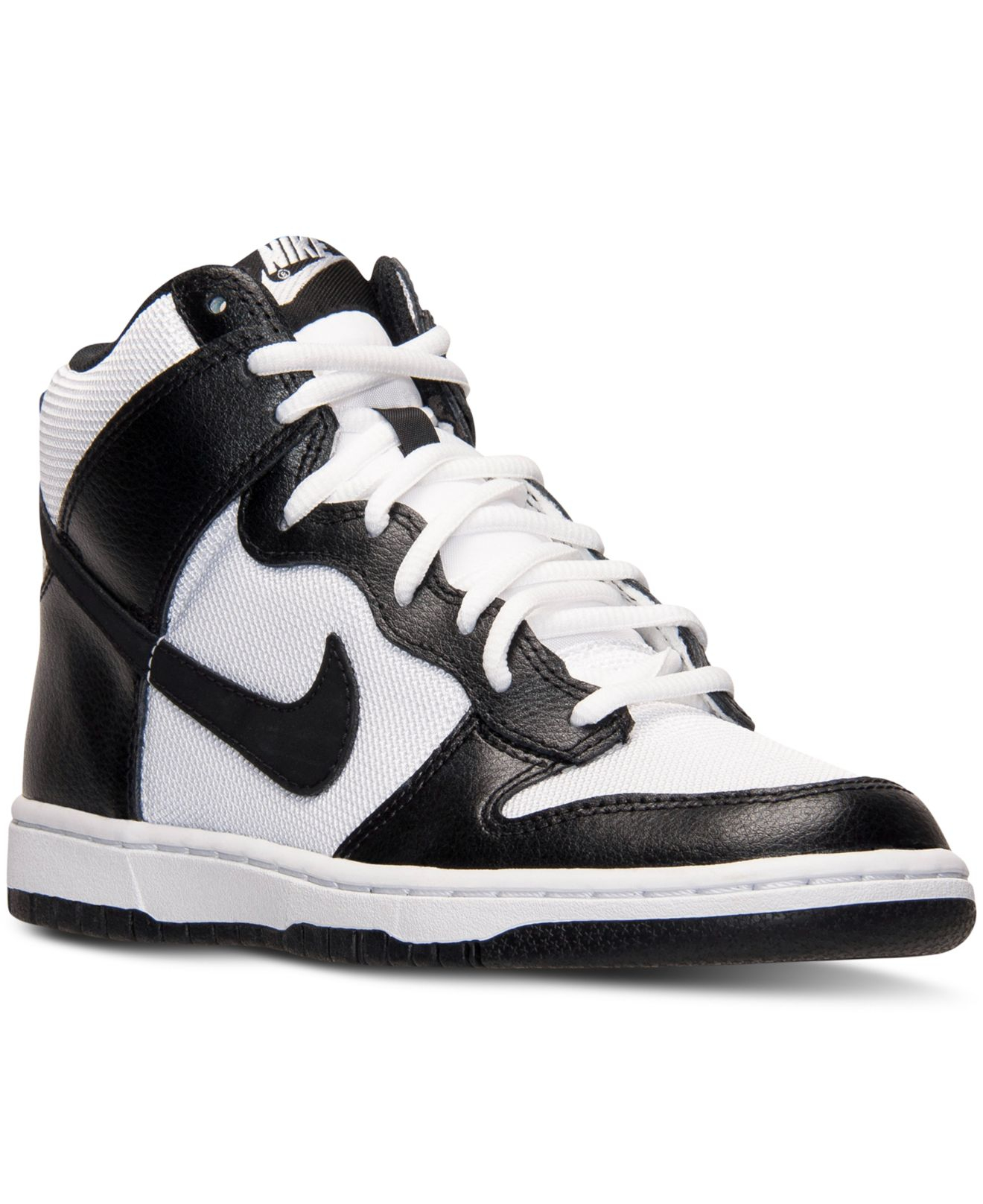 Lyst - Nike Womens Dunk High Skinny Casual Sneakers From -1150