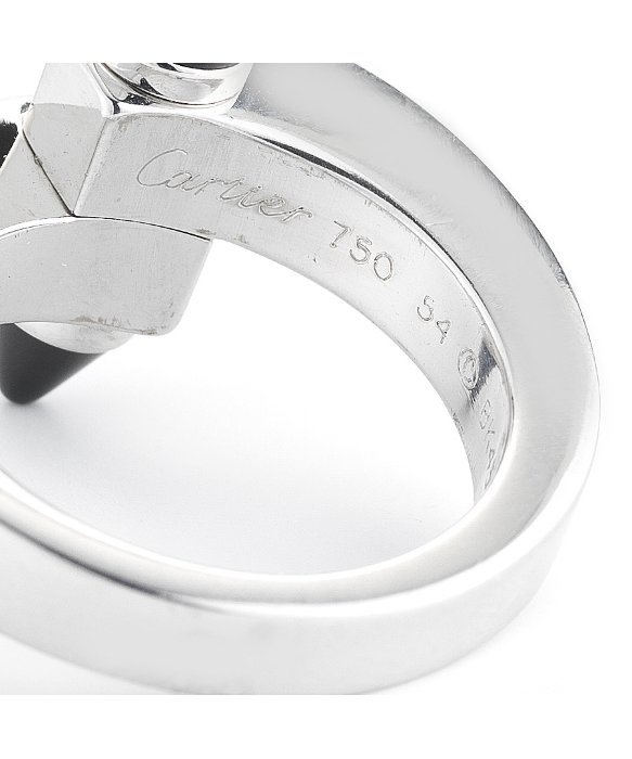 Cartier Pre-Owned: Nail Ring in Metallic | Lyst