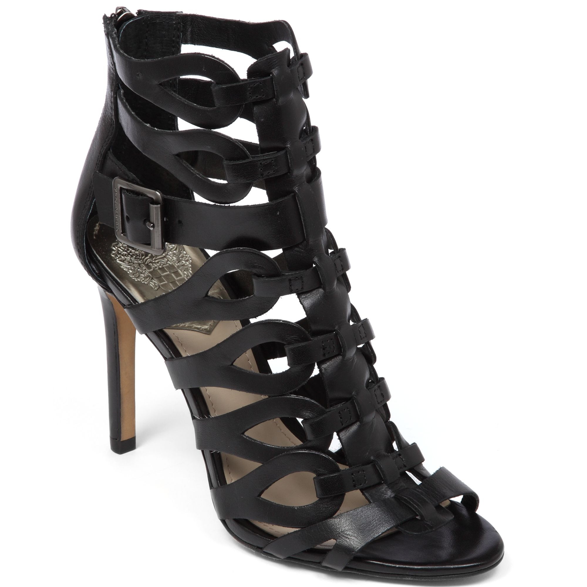 Vince Camuto Ombre Gladiator High Heel Sandals In Black Lyst