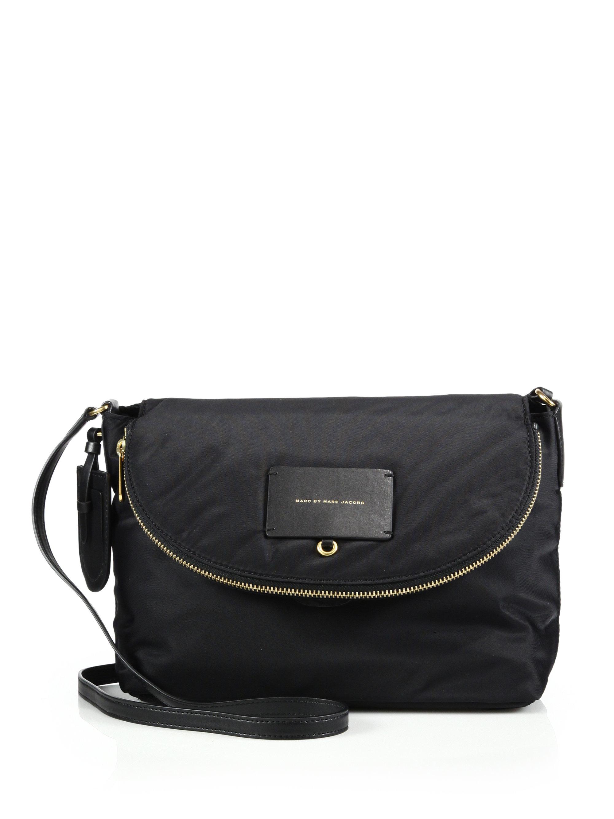 Marc by marc jacobs Natasha Nylon Crossbody Bag in Black ...