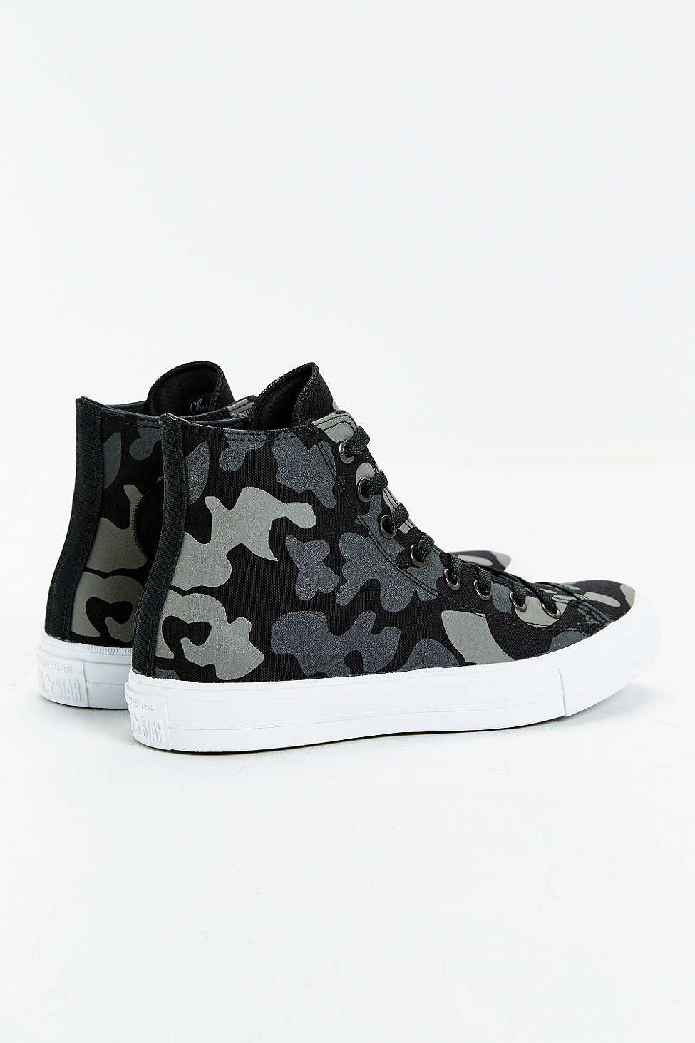 682f0d9b90e5 Lyst - Converse Chuck Taylor All Star Ii Reflective Camo Sneaker in Blue