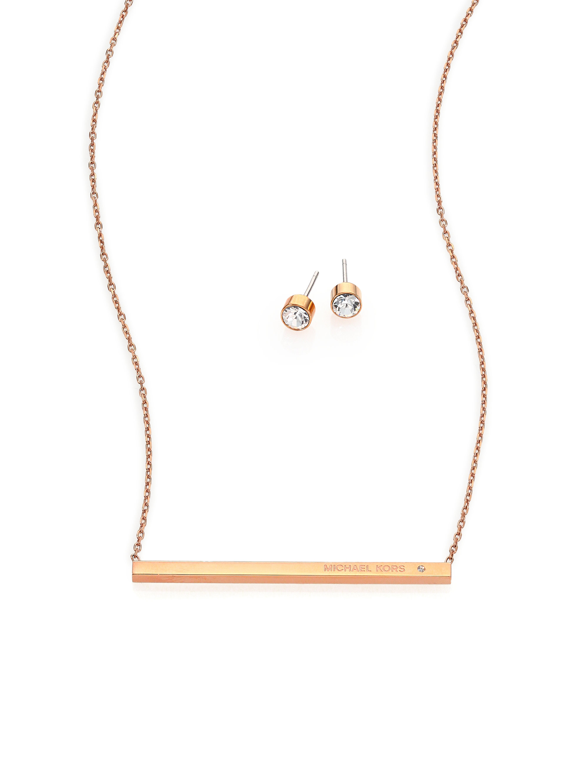 gold bar claire charm necklace pearl with tone pendant dangle s