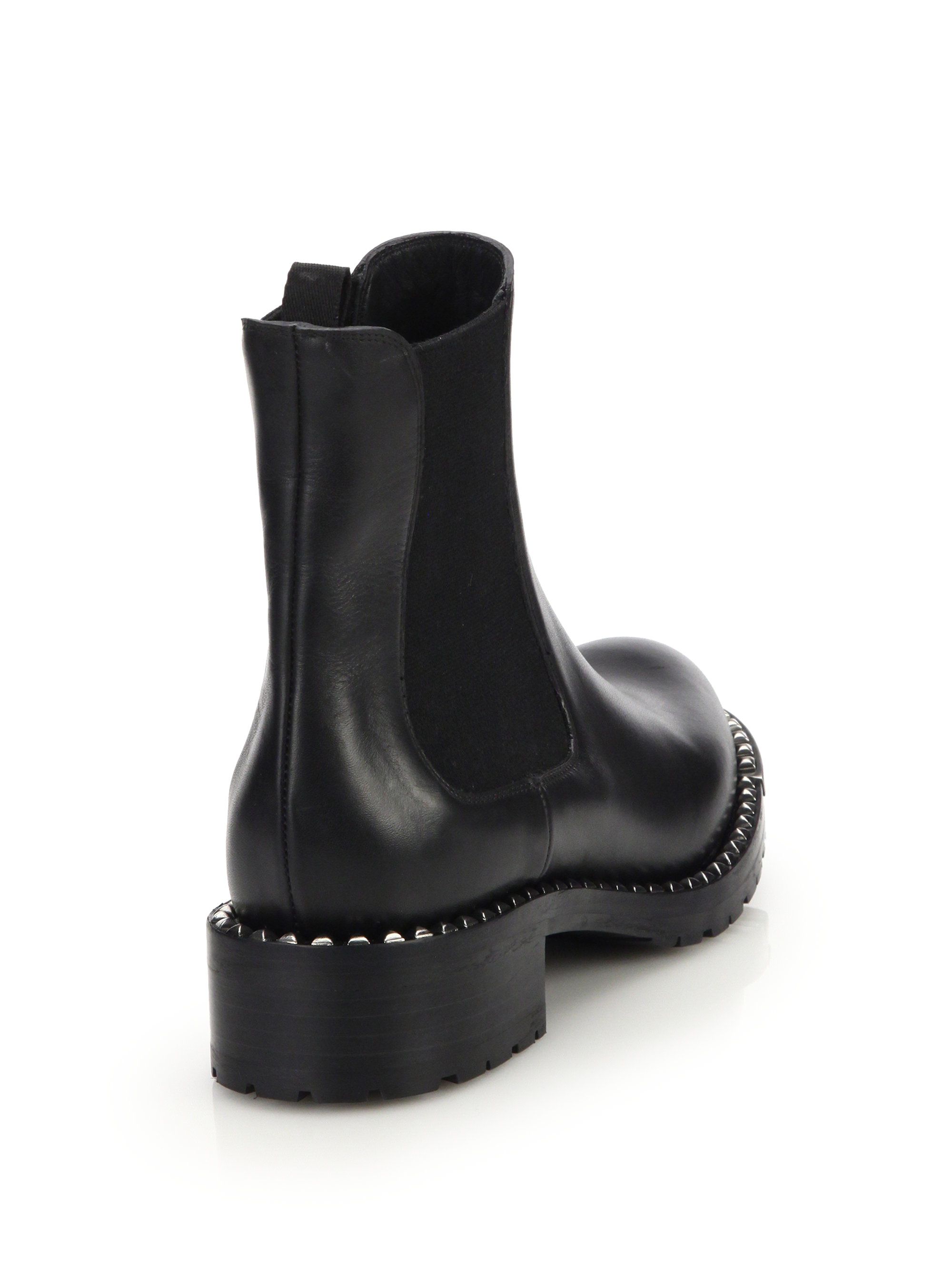 Miu Miu Leather Ankle Boots Discount Looking For pmVgdce