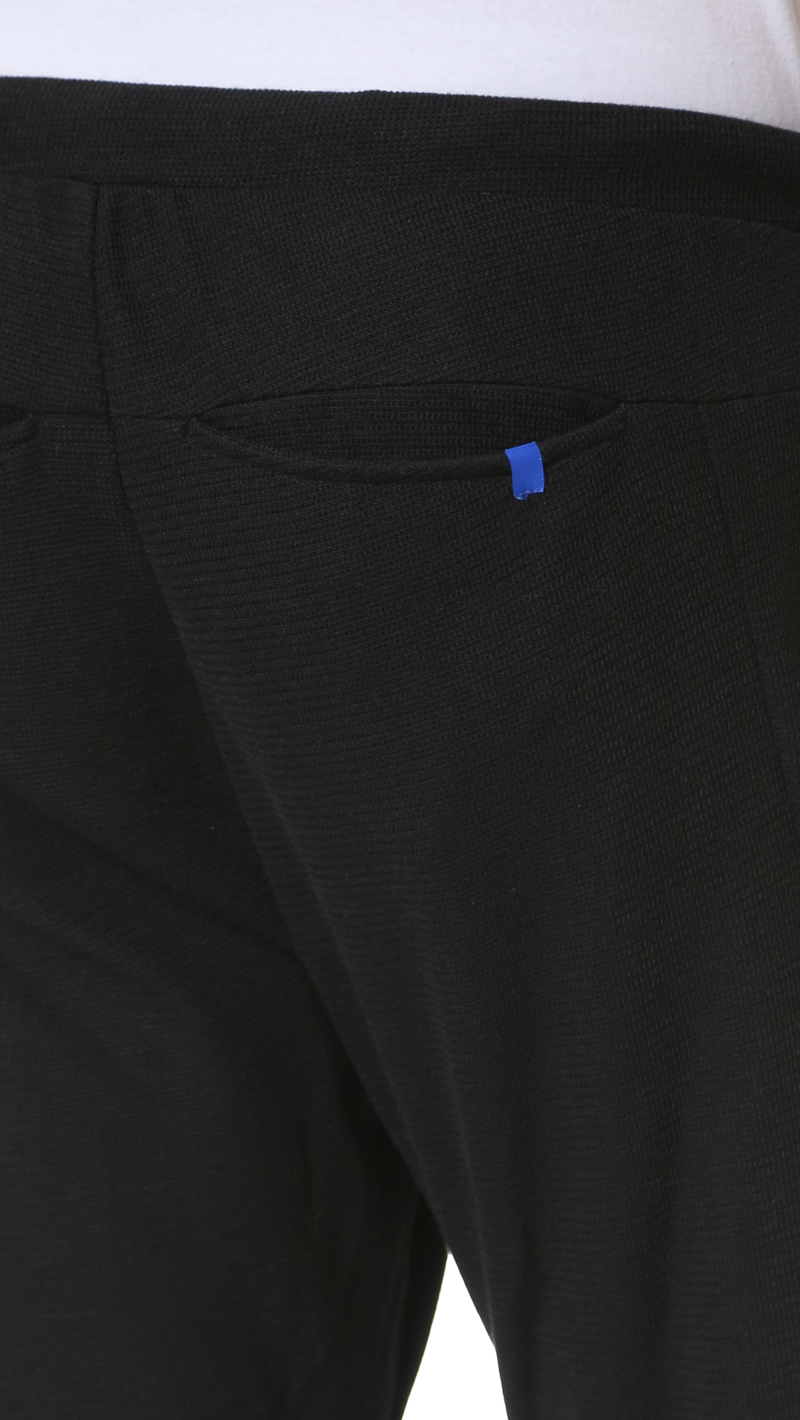 2 X H Brothers Synthetic Casual Trouser in Black for Men