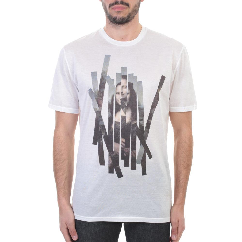 White Mantastic T-Shirt Neil Barrett Manchester Great Sale Cheap Price For Cheap Online 100% Original wqnFR