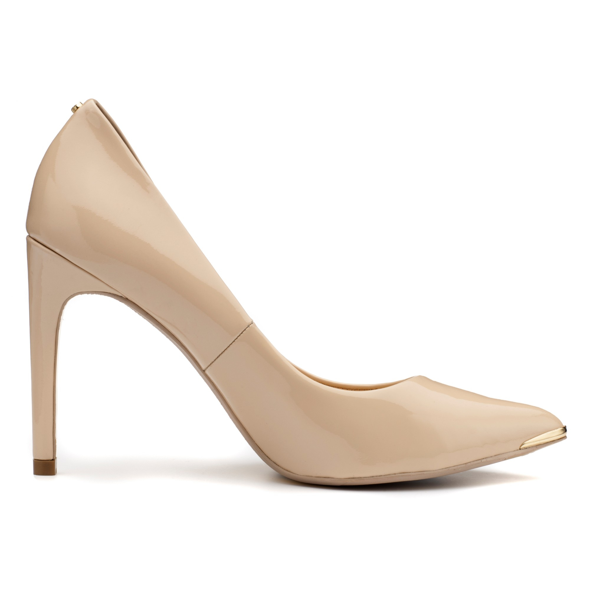0317f8c5c4 Ted Baker Neevo Pointed Court Shoes in Natural - Lyst
