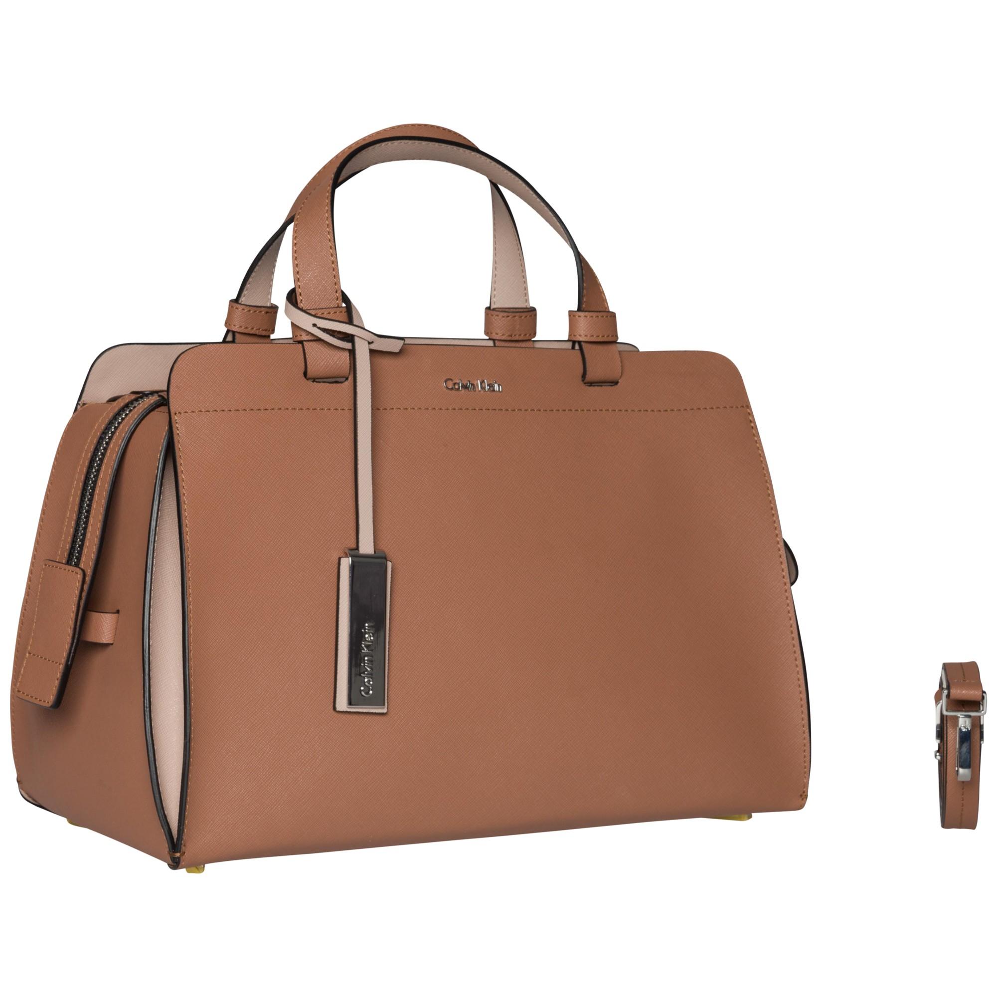 e34993c28e Calvin Klein Sophie Duffle Grab Bag in Brown - Lyst