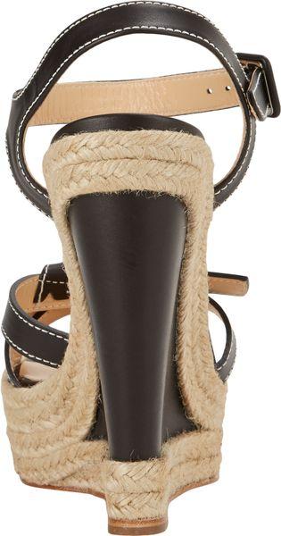 Christian Louboutin Zero Problem Espadrille Wedge Sandals