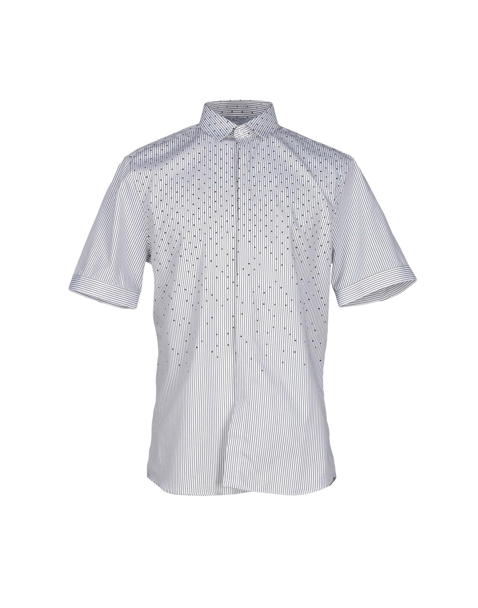 Neil barrett shirt in white for men lyst for Neil barrett tuxedo shirt