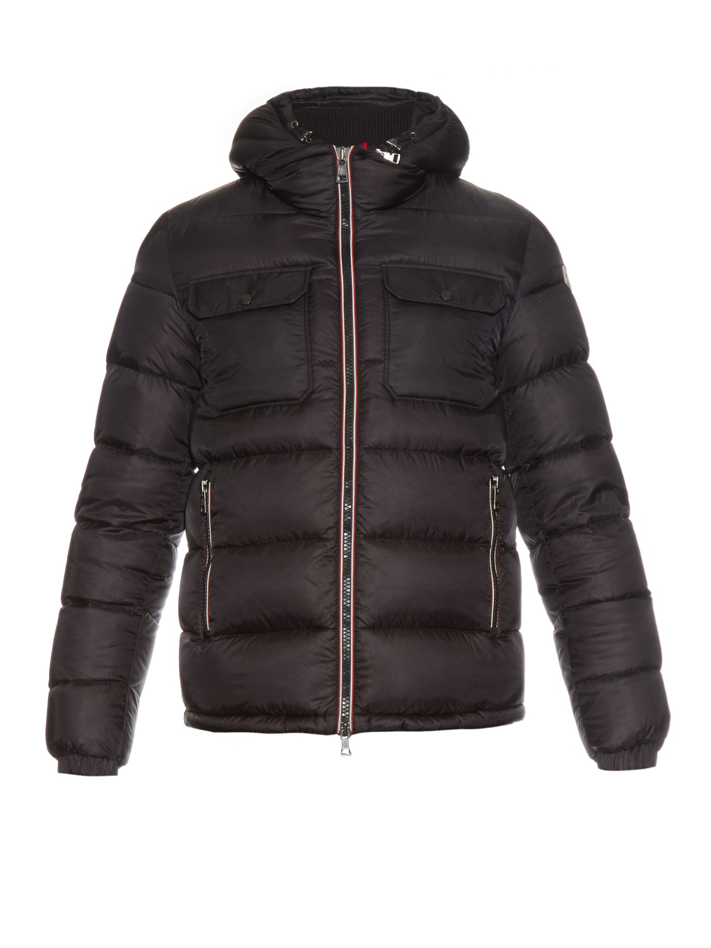 75a4dc853 Moncler Demar Quilted-down Coat in Black for Men - Lyst