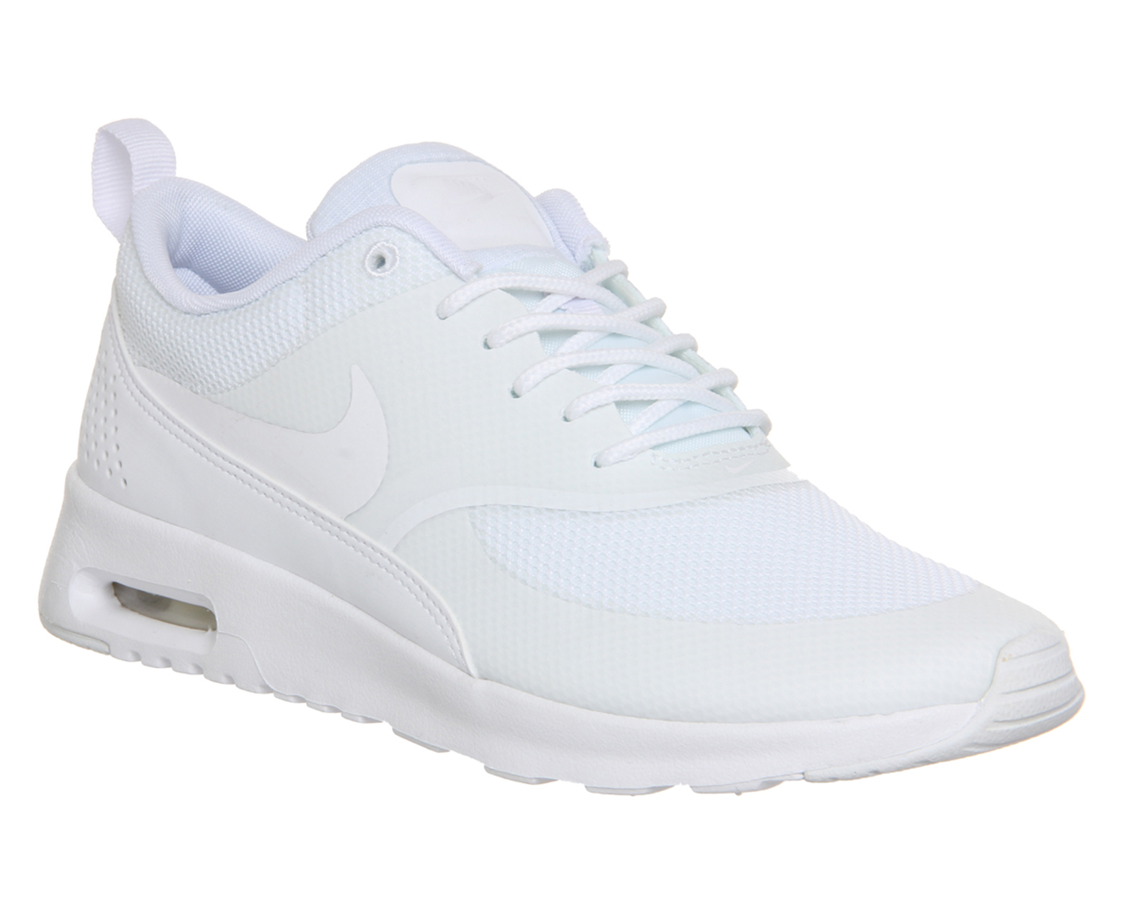 nike air max thea low top sneakers in white lyst. Black Bedroom Furniture Sets. Home Design Ideas
