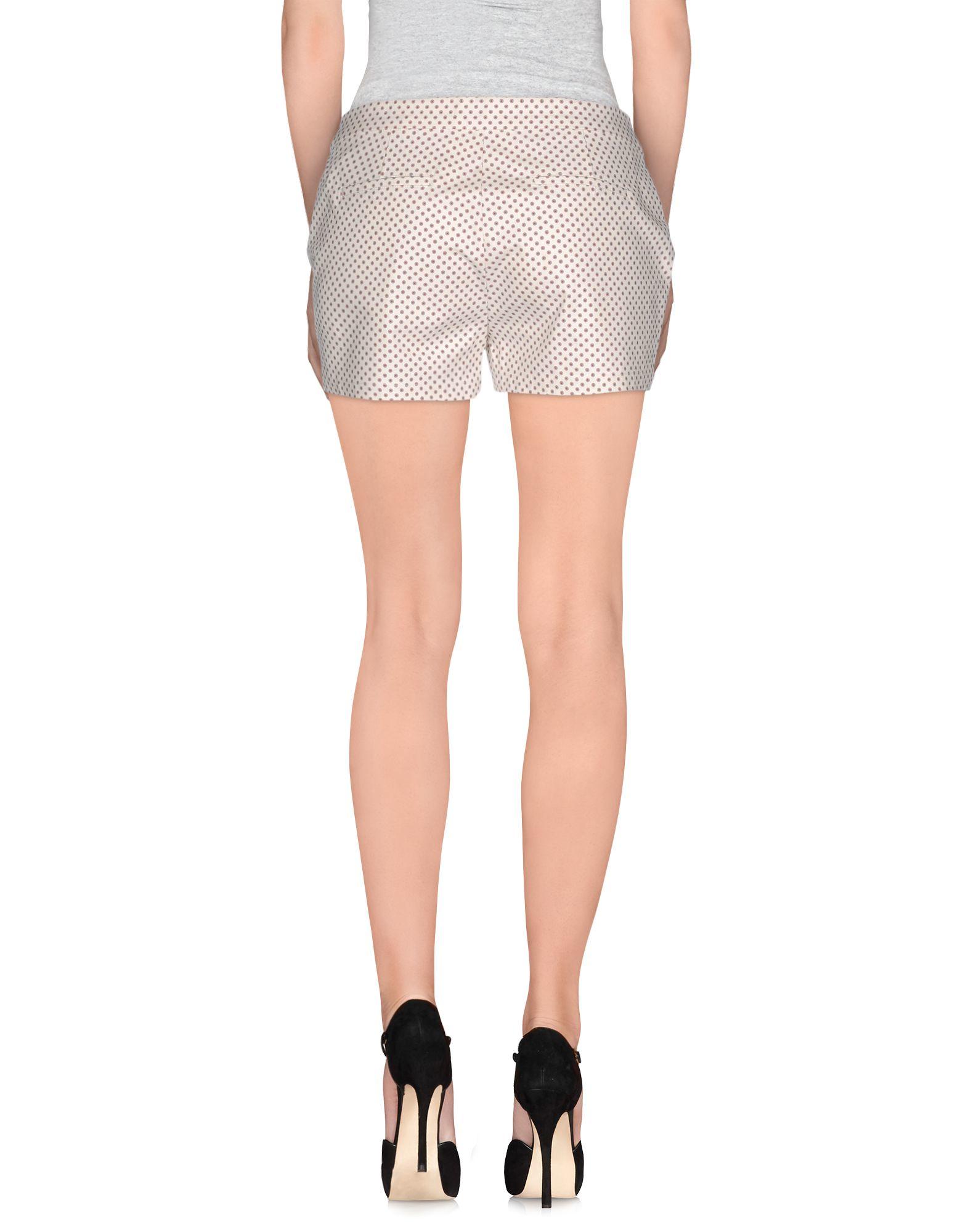 Lyst maison scotch shorts in white for Atelier maison scotch