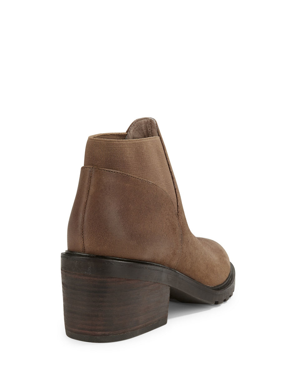 Eileen fisher Leather Ankle Boots in Brown