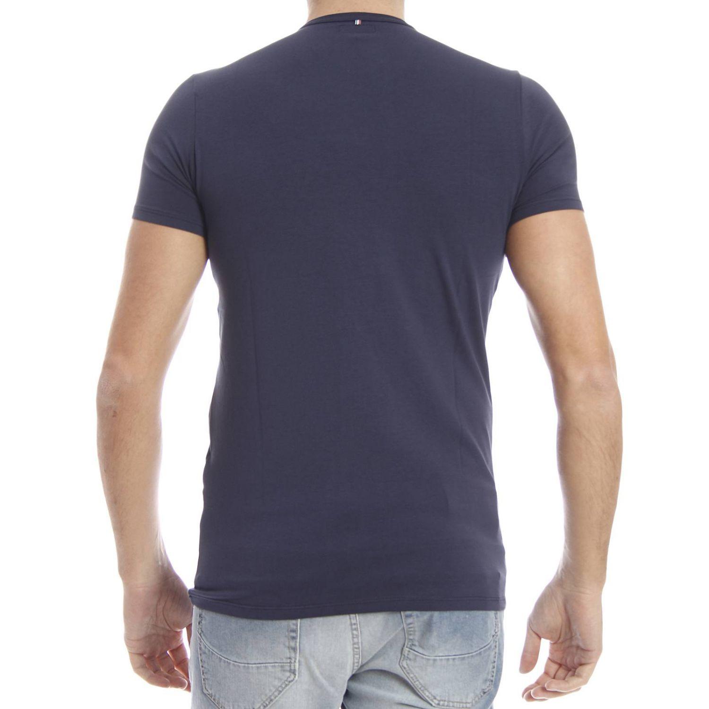 lyst armani jeans t shirt in blue for men. Black Bedroom Furniture Sets. Home Design Ideas