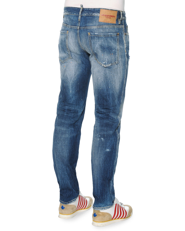 Stone Island Slim Blue Jeans