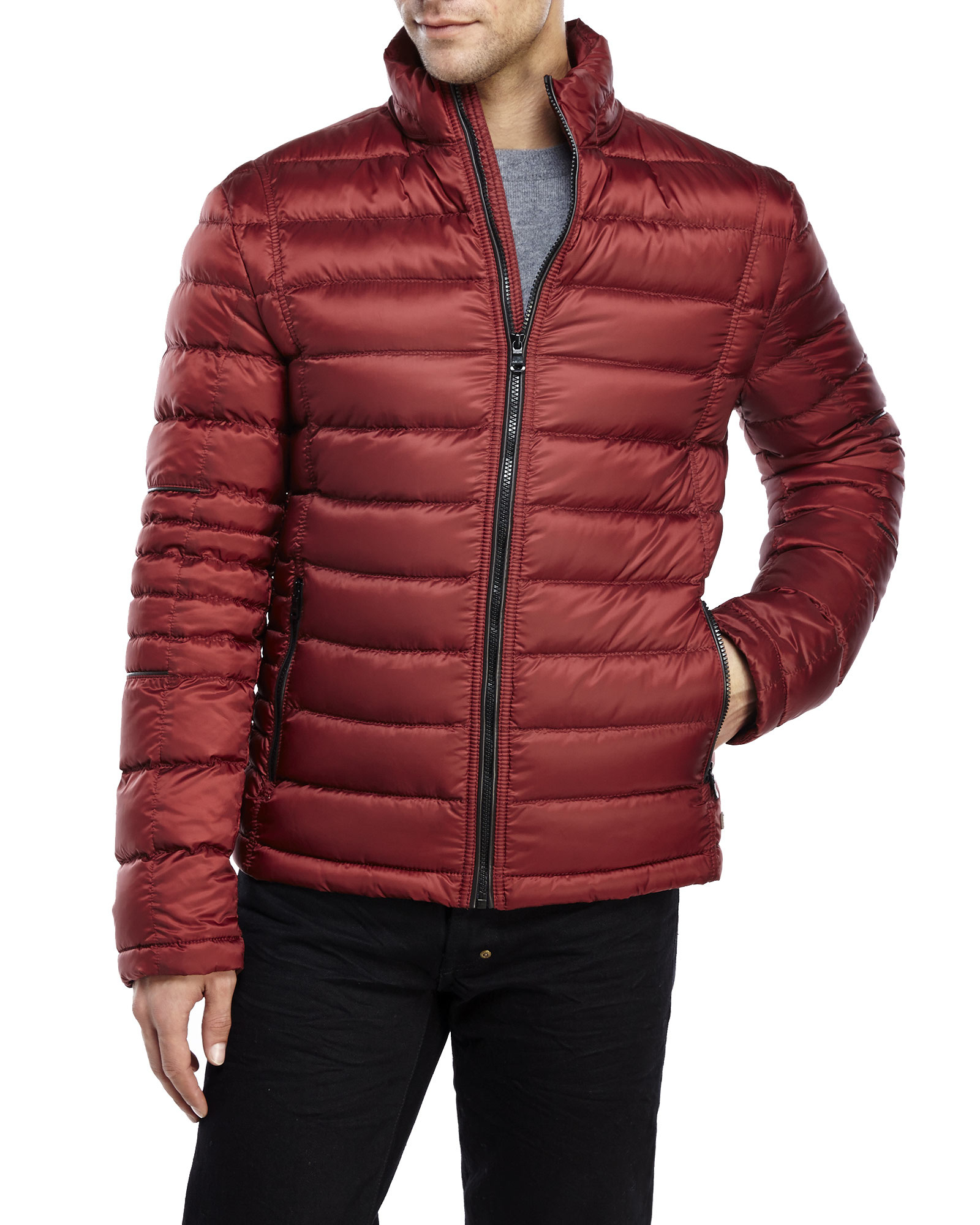 hugo boss link2 down jacket