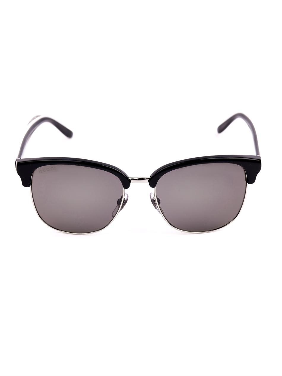 Gucci D-Frame Sunglasses in Black for Men Lyst
