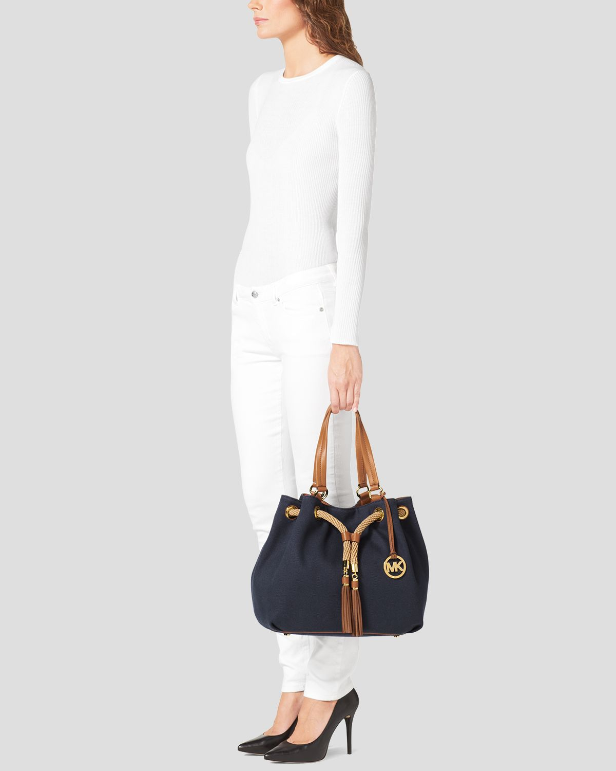 3af314fc4bbe ... where can i buy gallery. previously sold at bloomingdales womens michael  kors marina a686f 47b95