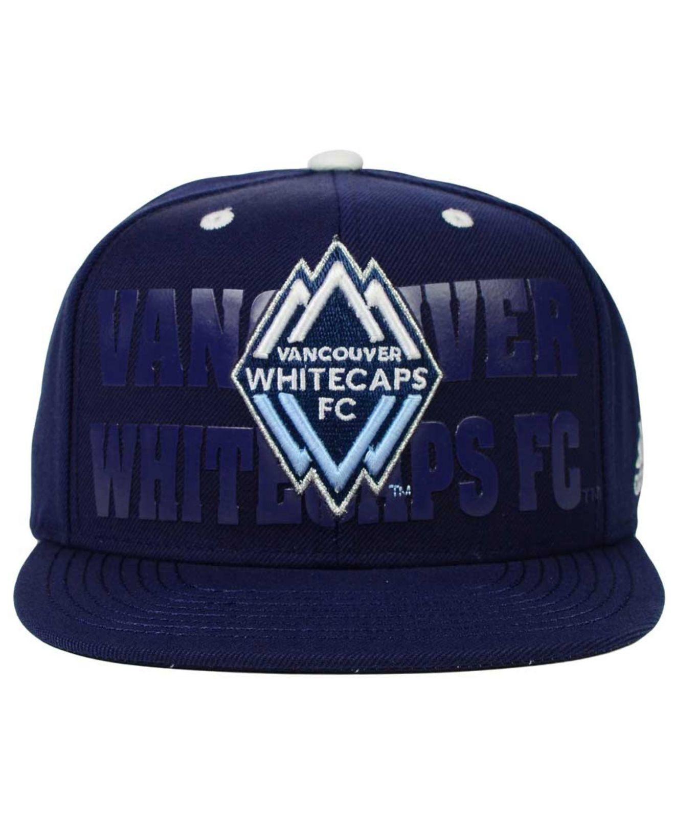 8de98cf1f92 Lyst - adidas Originals Vancouver Whitecaps Fc Academy Snapback Cap ...