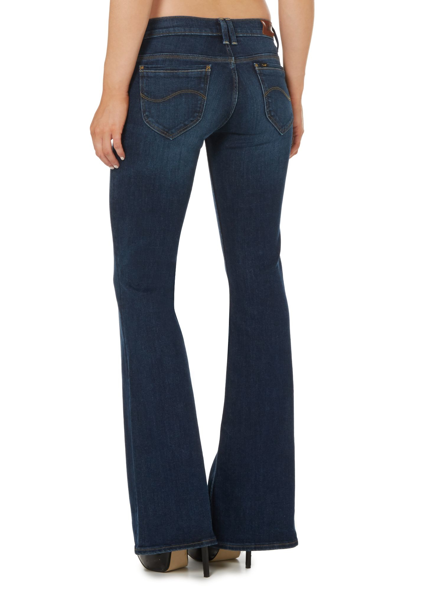 Lee jeans Annetta Flare Jean In Blue Notes in Blue | Lyst