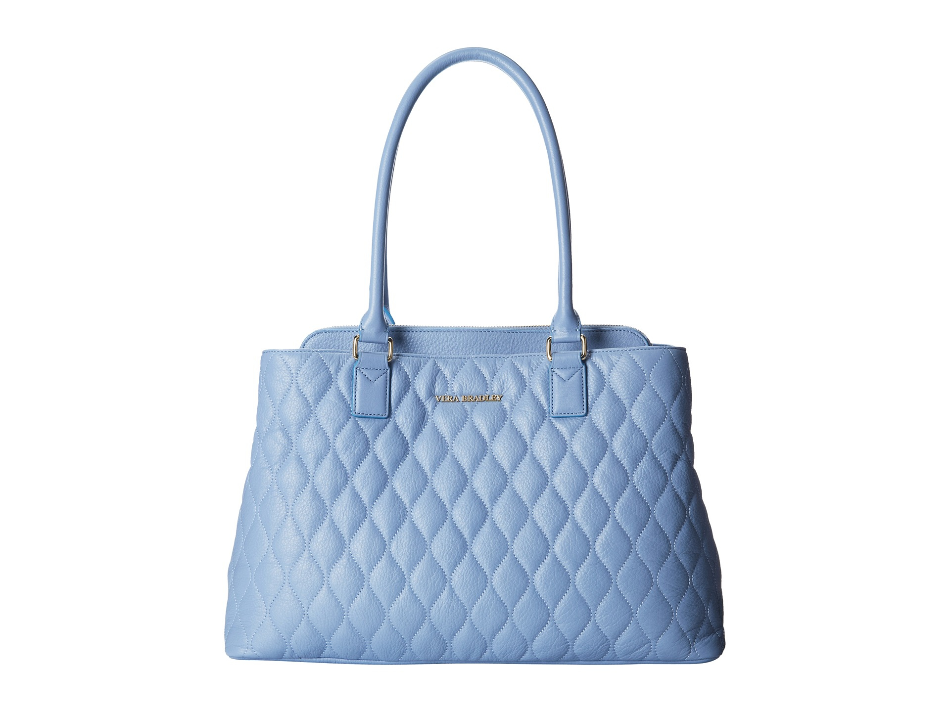 Vera Bradley Quilted Emma Tote In Blue Lyst