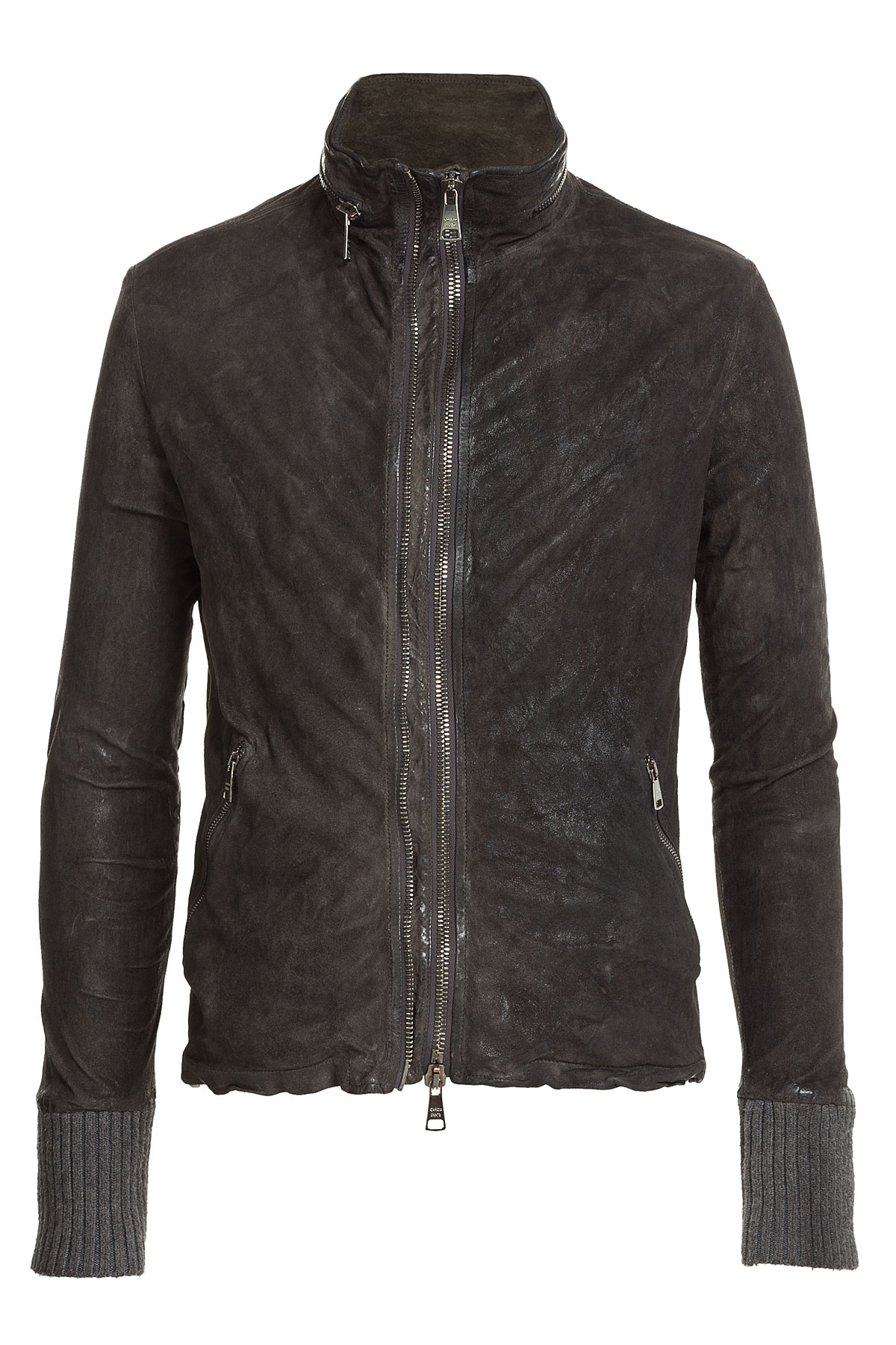 Suede Jacket Outfits For Men 20 Ways To Wear A Suede Jacket: Giorgio Brato Distressed Suede Jacket