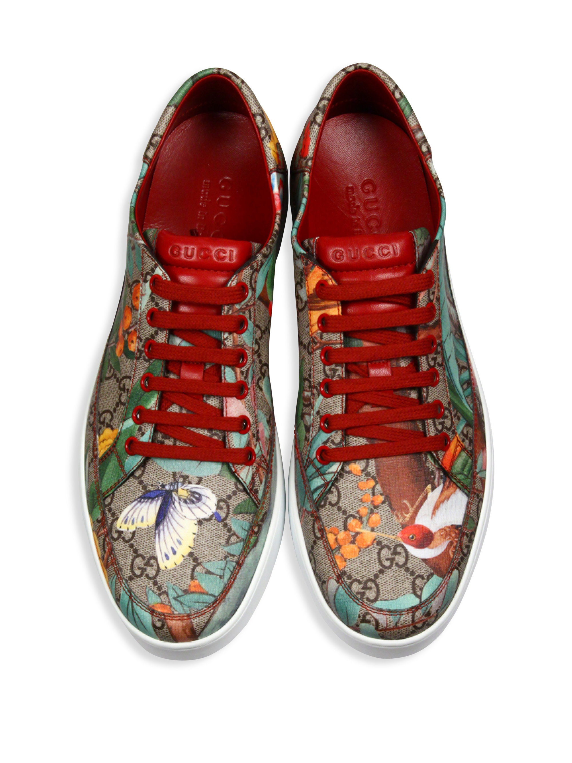 d39f37c5f Gucci Gg Supreme Tian Low-top Sneakers for Men - Lyst