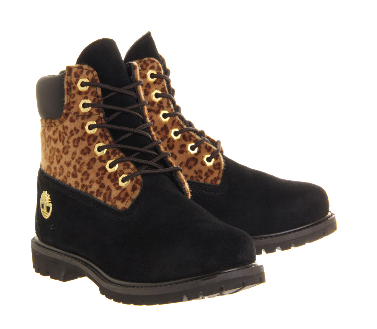 timberland premium 6 boot in black lyst