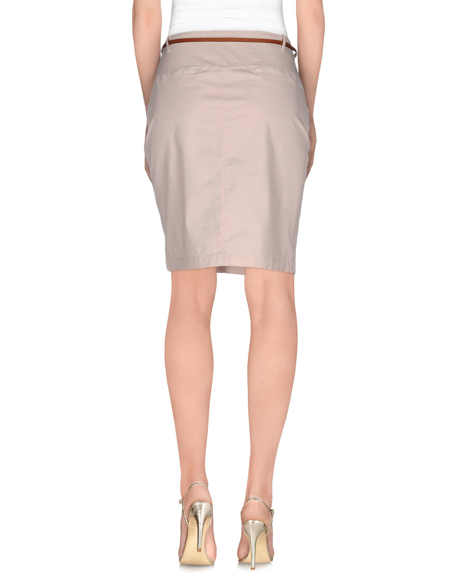 fabiana filippi knee length skirt in pink light pink lyst