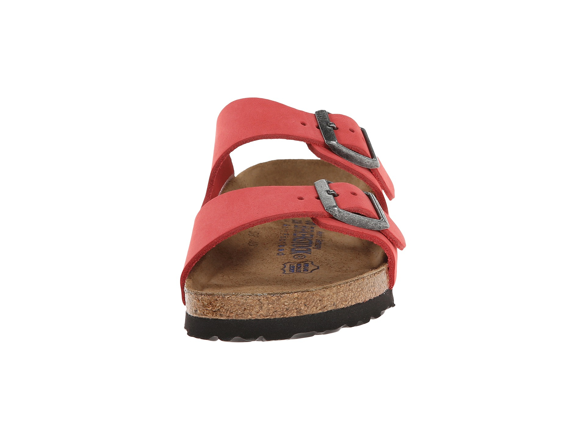 2ef6c0468291 Lyst - Birkenstock Arizona Soft Footbed - Leather (Unisex) in Pink