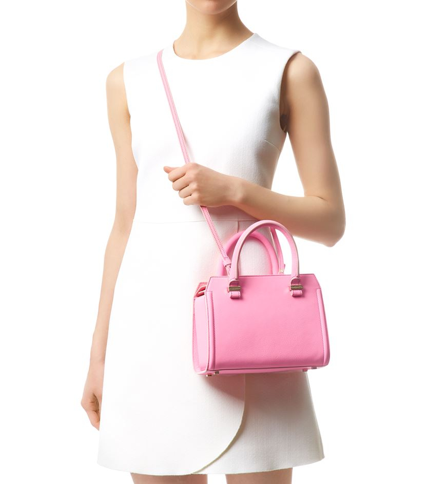 Victoria Beckham with a Loewe Bag