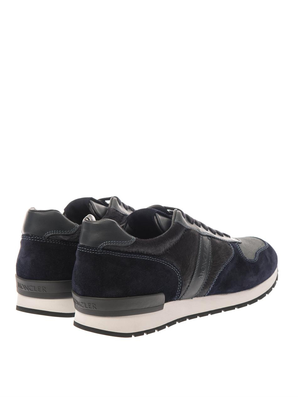 Moncler Montego Trainers In Blue For Men Lyst
