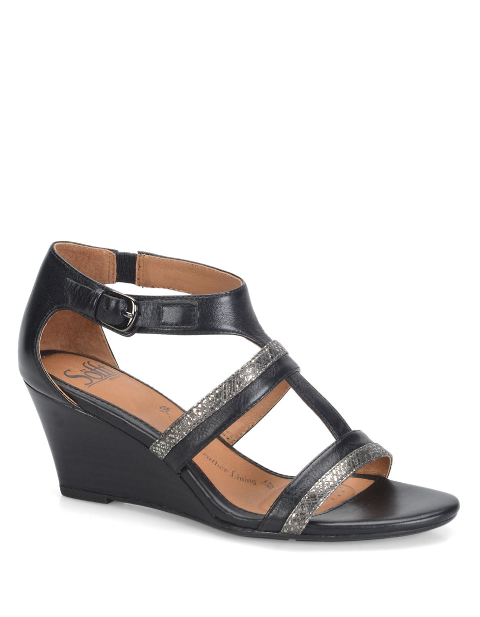 angrydog.ga: black leather wedge sandal. Interesting Finds Updated Daily. Ashuai Cork Sole Thong Wedge Sandals Metallic Faux Leather Heel Sandal. Anne Klein Women's Nanetta Espadrille Wedge Sandal. by Anne Klein. $ - $ $ 41 $ 80 00 Prime. FREE Shipping on eligible orders.